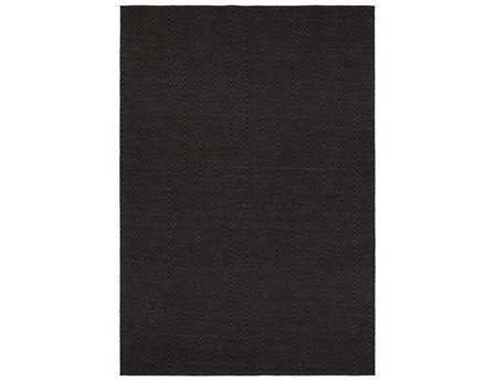 Chandra Ciara Rectangular Black Area Rug