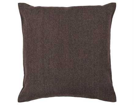 Chandra  Brown Handmade Pillow