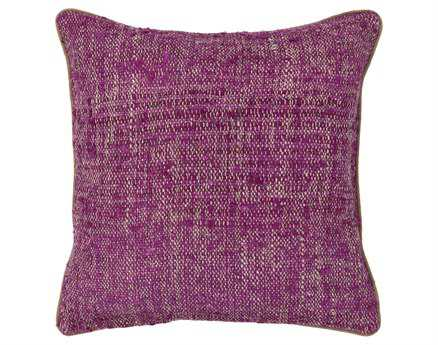 Chandra Purple Handmade Pillow