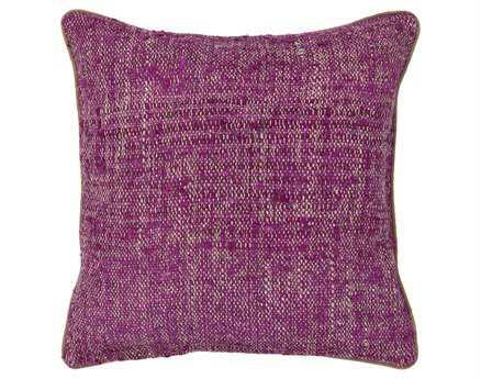 Chandra Purple Handmade Pillow