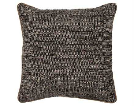 Chandra  Black Handmade Pillow