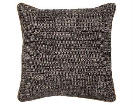 Chandra  Black Handmade Pillow