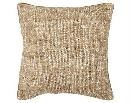 Chandra  Beige Handmade Pillow