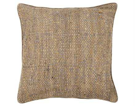 Chandra Brown Handmade Pillow