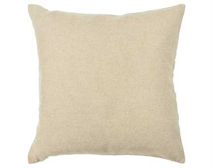 Chandra  Beige Handmade Pillow
