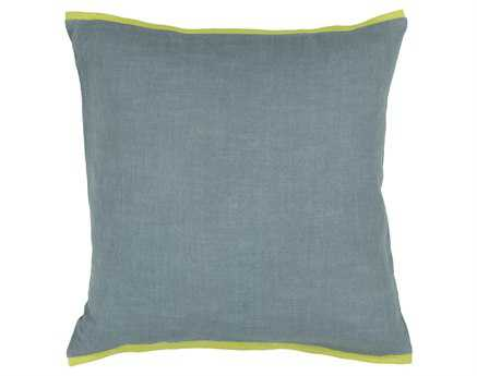 Chandra  Green Handmade Pillow