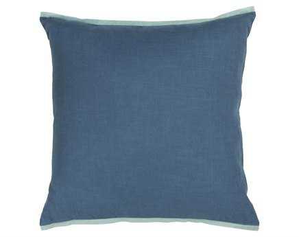 Chandra  Blue Handmade Pillow