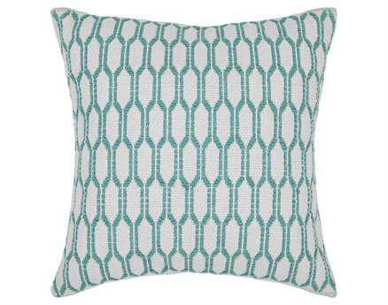 Chandra Green Handmade Pillow