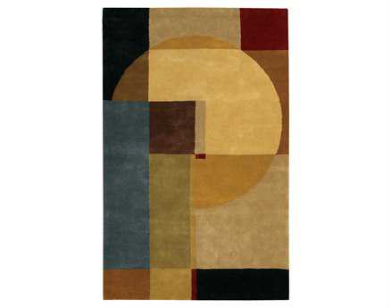 Chandra Dream Brown Area Rug