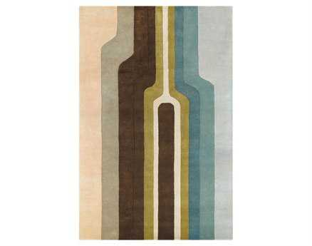 Chandra Faro Rectangular Brown Area Rug