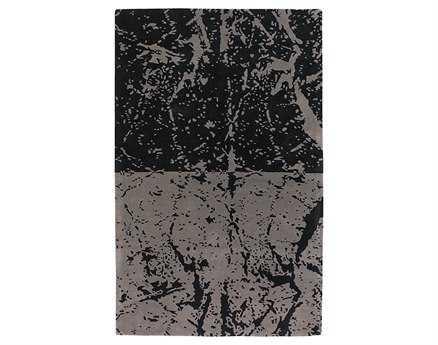 Chandra Fenja Rectangular Black Area Rug