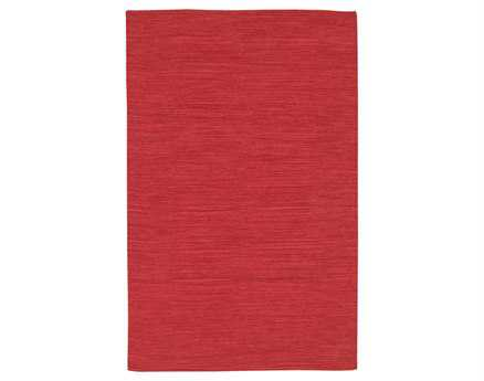 Chandra India Red Area Rug
