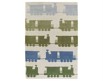 Chandra Kids Rectangular Gray Area Rug