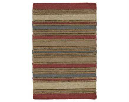 Chandra Kilim Rectangular Red Area Rug