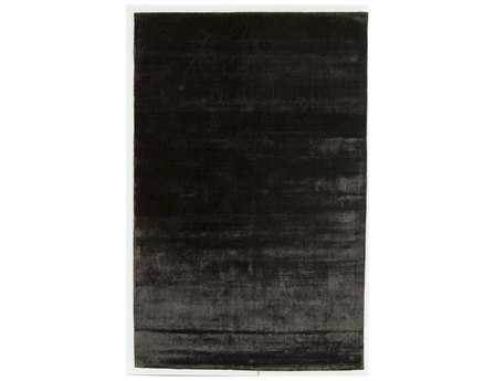 Chandra Libra Rectangular Black Area Rug