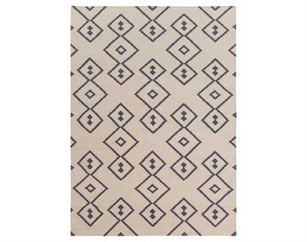 Chandra Lima Rectangular Beige Area Rug