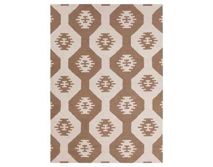 Chandra Lima Rectangular Brown Area Rug