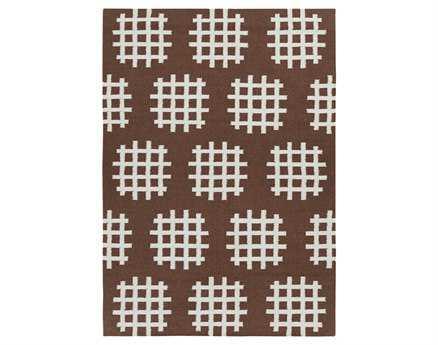 Chandra Lima Rectangular Brown Area Rug