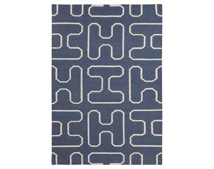 Chandra Lima Rectangular Blue Area Rug