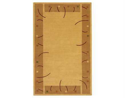 Chandra Metro Rectangular Beige Area Rug