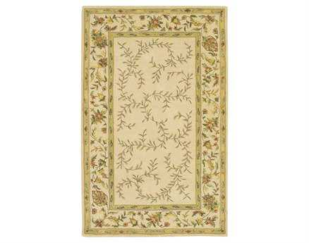 Chandra Rectangular Beige Area Rug