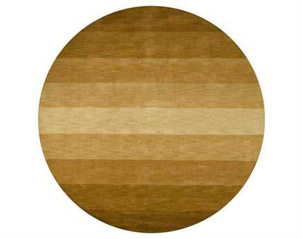 Chandra Metro Round Brown Area Rug