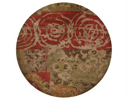 Chandra Nirvana Round Hand-tufted Contemporary Rug
