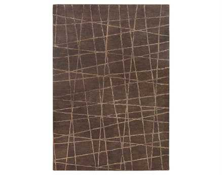 Chandra Oslo Rectangular Brown Area Rug