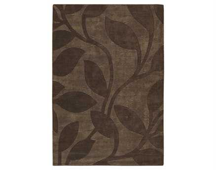 Chandra Pernille Rectangular Brown Area Rug