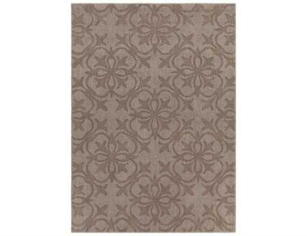Chandra Rekha Rectangular Brown Area Rug