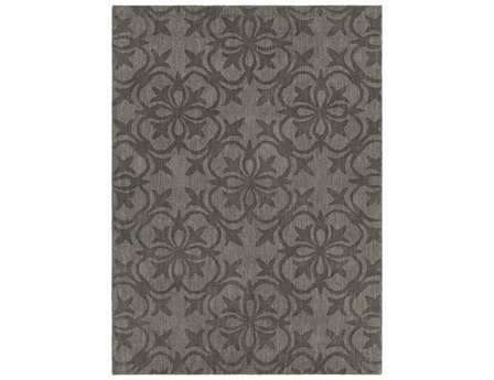 Chandra Rekha Rectangular Gray Area Rug