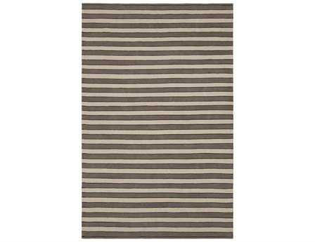 Chandra Semoy Rectangular Brown Area Rug