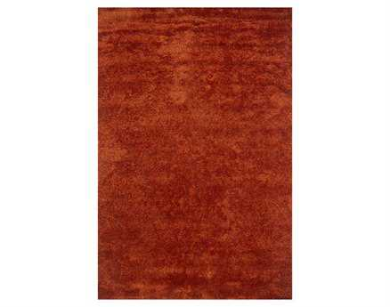 Chandra Seschat Rectangular Red Area Rug