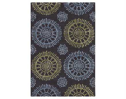 Chandra Stanton Rectangular Blue Area Rug
