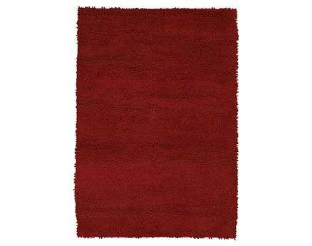 Chandra Strata Rectangular Red Rug