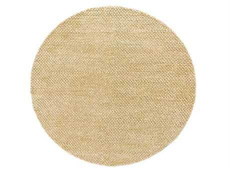 Chandra Strata Round Beige Area Rug