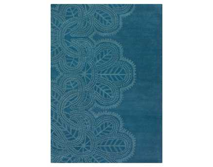 Chandra Taru Rectangular Blue Area Rug