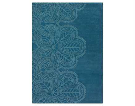 Chandra Taru Rectangular Blue Area Rug