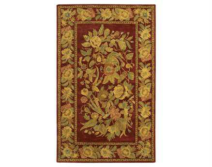 Chandra Verona Red Area Rug