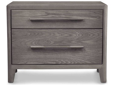 Copeland Furniture Surround 28''W x 18''D Rectangular Two-Drawer Nightstand with Wood Top