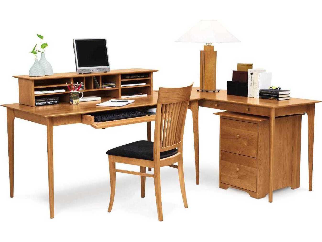 Copeland Furniture Sarah 60 L X 30 W Rectangular Return Credenza Desk
