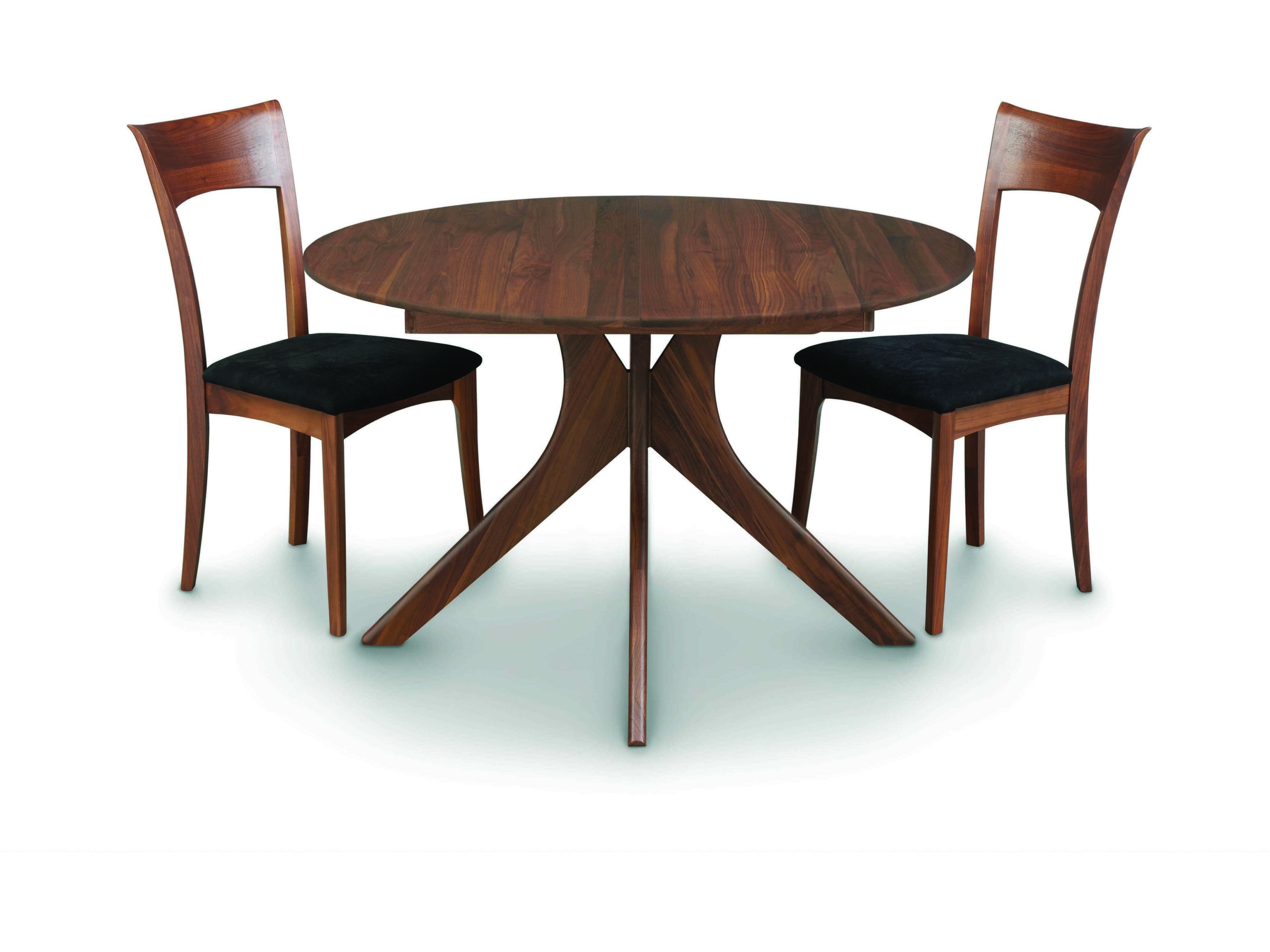 Copeland Furniture Audrey 48 Wide Round Extension Dining