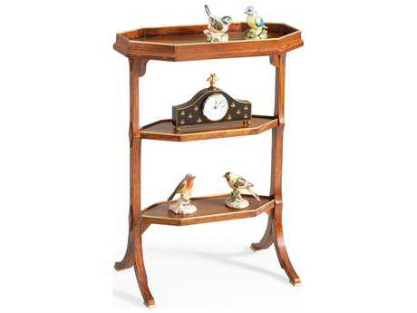 Chelsea House Lincoln Natural with Gold Accents 22''L x 12''W End Table