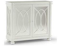 Chelsea House White Harnett Mirror Cabinet