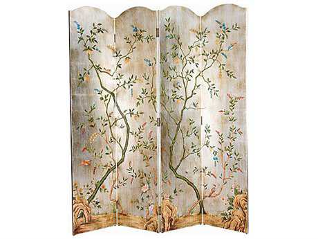 Chelsea House Yin Four-Panel Screen Painting