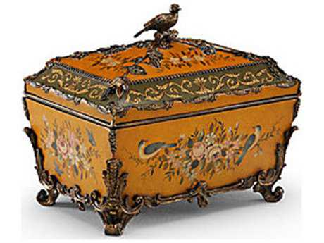 Chelsea House Satinwood Rococo Accent Box