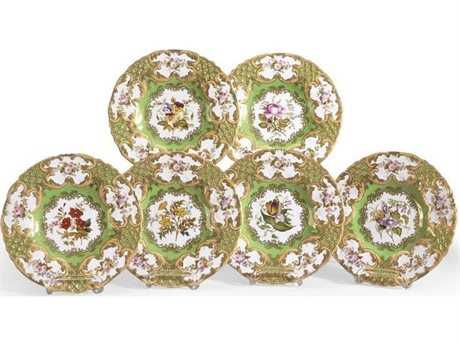 Chelsea House New Hall Decorative Plate (Set of Two)