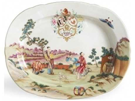 Chelsea House Pocelain Platter Serving Tray