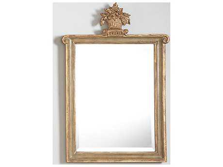 Chelsea House Kingstree Green & Gold 15 x 23 Wall Mirror