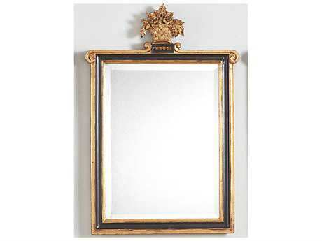 Chelsea House Kingstree Black And Gold Wall Mirror